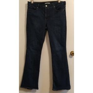 Levis Shaping Bootcut 34 Womens Jeans Dark Wash